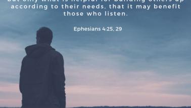 Ephesians 4:25, 29