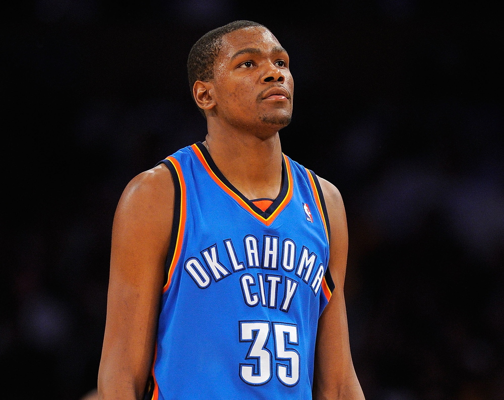 Kevin Durant proclaims Christ is the reason for his success