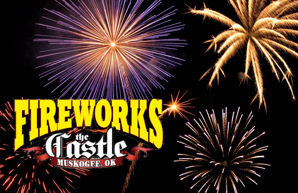 Fireworks at the Castle!