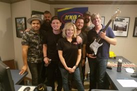 Unspoken sings live on the morning show!