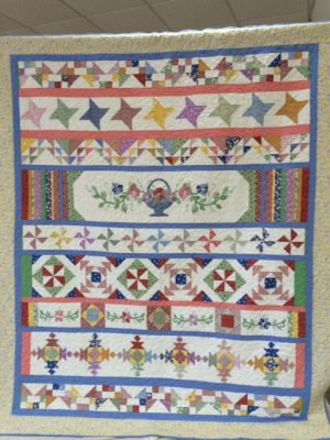 Creek county ohce quilt and craft show 94 1 kxoj for Quilt and craft show