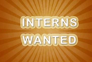 Interns Wanted