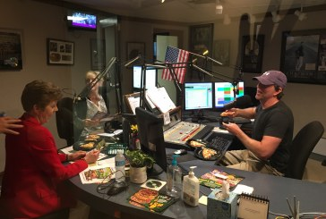 Summer of Lunch! Dave and Katie and Sheri Miksa from Mazzios!