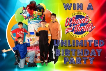 Win  A Wheels And Thrills Unlimited Birthday