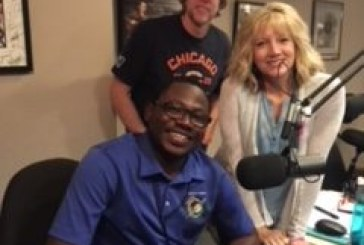 Desire was on the show with Dave and Katie to talk about Operation Christmas Child