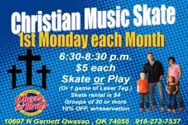 Christian Music Skate Night at Wheels & Thrills