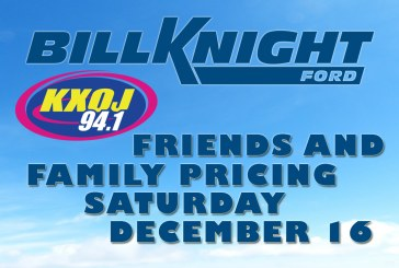 KXOJ Friends & Family at Bill Knight Ford
