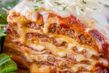 Jamie's special lasagna in a crock pot recipe!