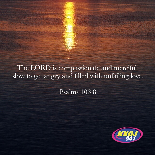 March 13th - Psalm 103:8