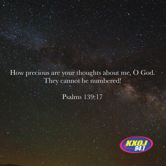 March 14th - Psalm 139:17