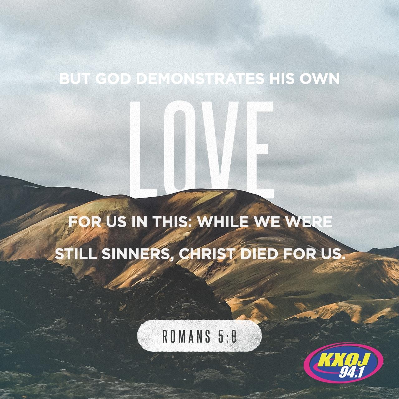 March 18th - Romans 5:8