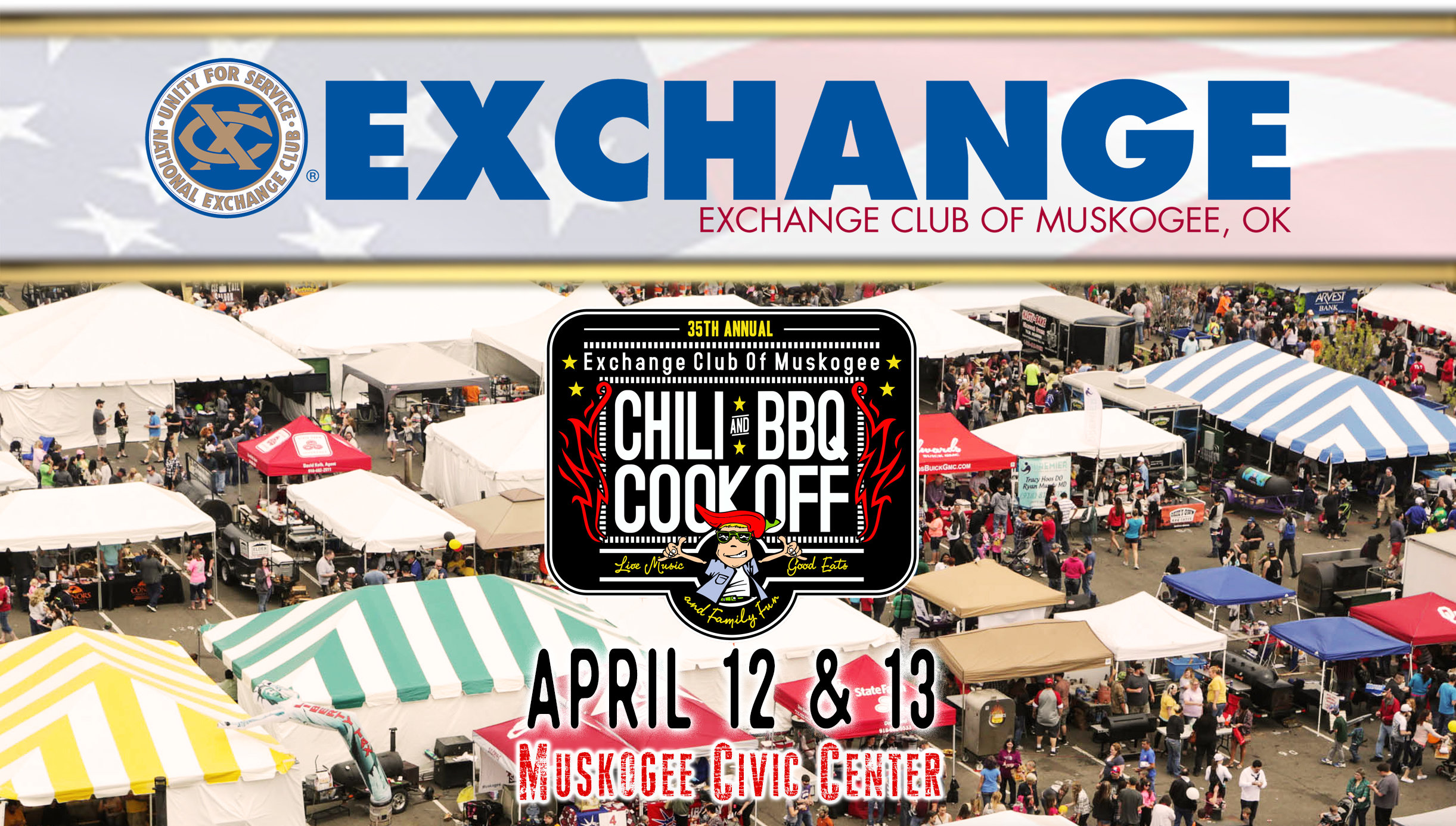 Muskogee Chili and B-B-Q Cook-off!