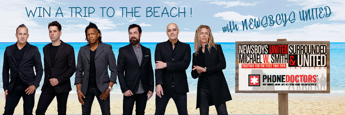 Find out who our big winner of the Newsboys Flyaway to West Palm Beach is!