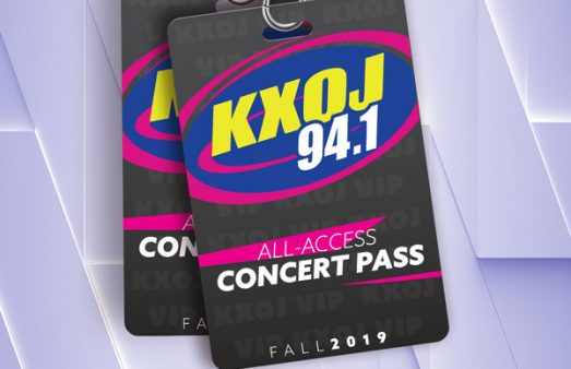 Win KXOJ's All Access Concert Pass