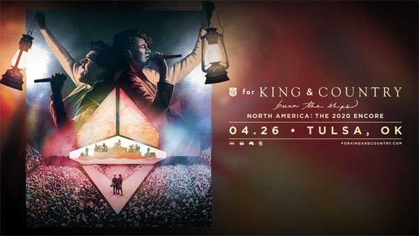 For King & Country 4/26/20