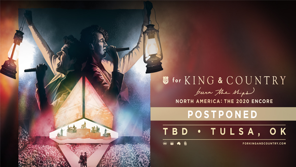 For King & Country Postponed