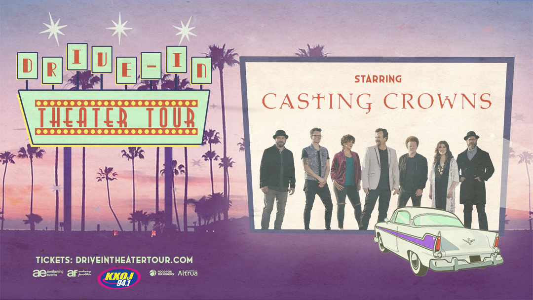 Casting Crowns Drive-In Theater Tour - July 16