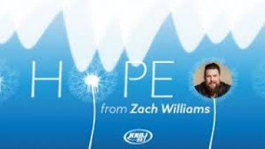 Zach Williams on the Dave and Katie Morning Show!