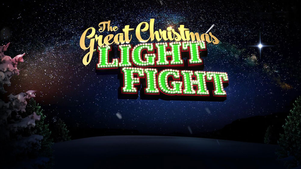 Jenks Family featured on ABC's The Great Christmas Light Fight!
