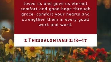 2 Thessalonians 2:16-17
