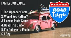 Car Game ideas for YOUR road trip!
