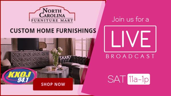 Join KXOJ At North Carolina Furniture Mart