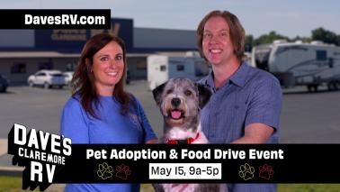 YOU can adopt a Pet at Dave's!!