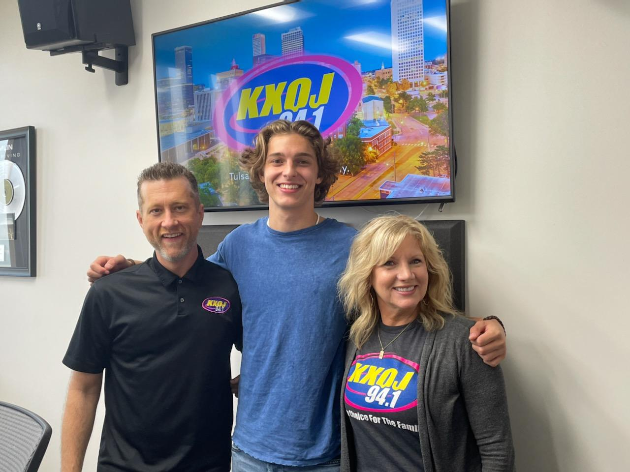 Coby James on the Morning Show with Gary & Katie!