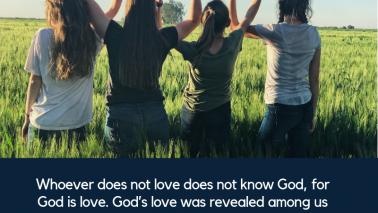 1 John 4:8-9