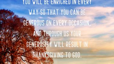 2 Corinthians 9:10