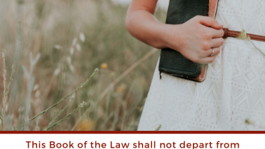 Joshua 1:8